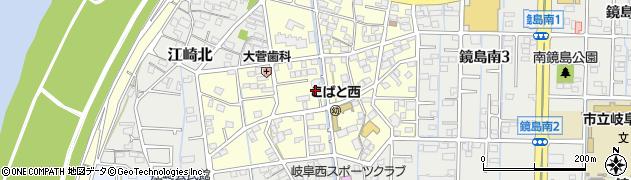 岐阜県岐阜市大菅北周辺の地図