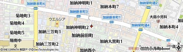 岐阜県岐阜市加納前田町周辺の地図