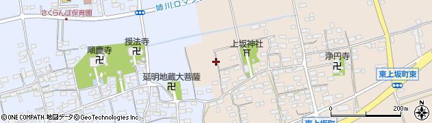 滋賀県長浜市東上坂町周辺の地図