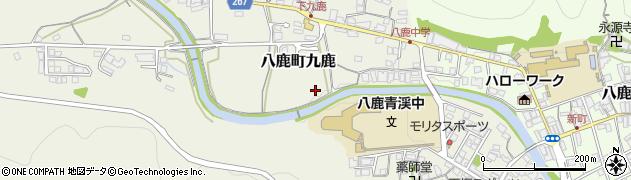 小佐川周辺の地図
