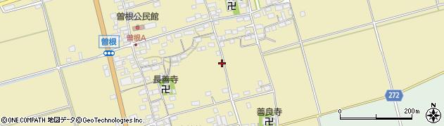 滋賀県長浜市曽根町周辺の地図