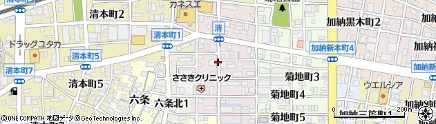 岐阜県岐阜市清周辺の地図