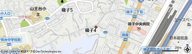 神奈川県横浜市磯子区磯子4丁目周辺の地図
