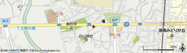 神奈川県藤沢市下土棚周辺の地図