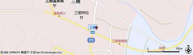 有楽周辺の地図