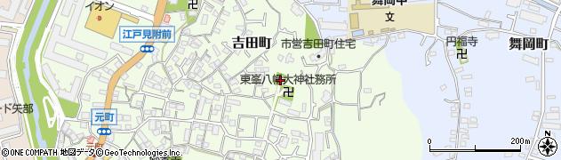 八幡大神周辺の地図