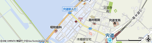 島根県松江市宍道町昭和周辺の地図