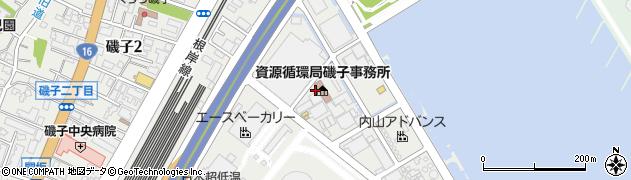 神奈川県横浜市磯子区新磯子町周辺の地図