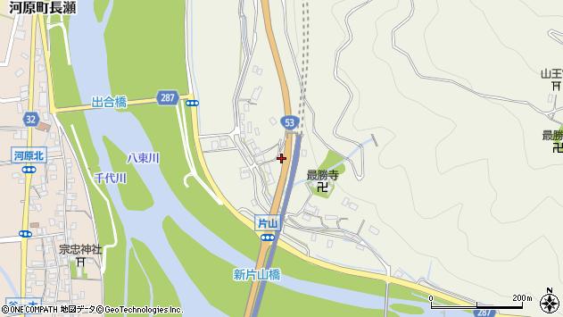 〒680-1204 鳥取県鳥取市河原町片山の地図
