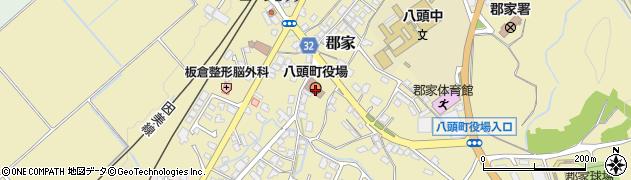 八頭町役場 町民課周辺の地図