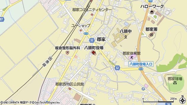 〒680-0400 鳥取県八頭郡八頭町(以下に掲載がない場合)の地図