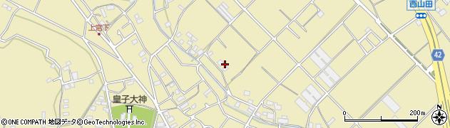 神奈川県藤沢市葛原周辺の地図