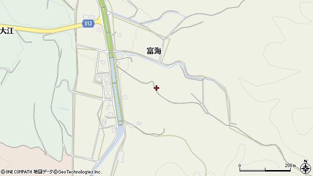 〒682-0832 鳥取県倉吉市富海の地図