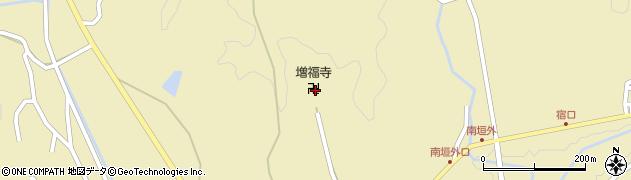 増福寺周辺の地図