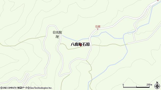 〒667-0051 兵庫県養父市八鹿町石原の地図