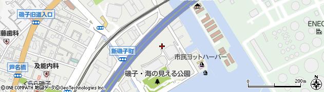 神奈川県横浜市磯子区磯子1丁目周辺の地図