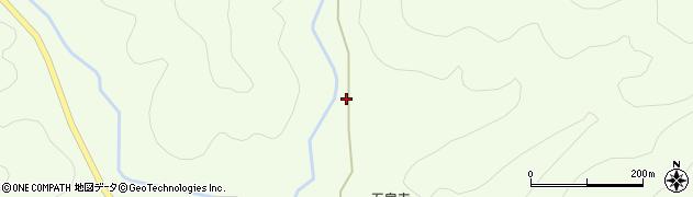 京都府綾部市五泉町(平林)周辺の地図