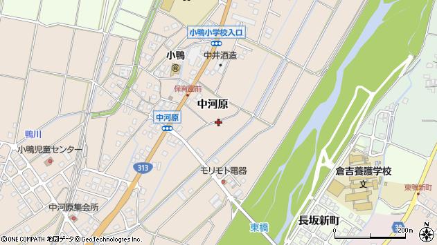 〒682-0856 鳥取県倉吉市中河原の地図