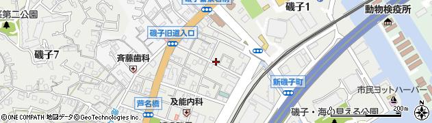神奈川県横浜市磯子区磯子2丁目周辺の地図