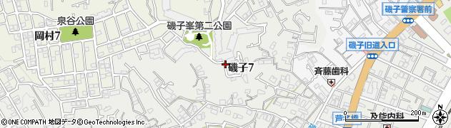 神奈川県横浜市磯子区磯子7丁目周辺の地図