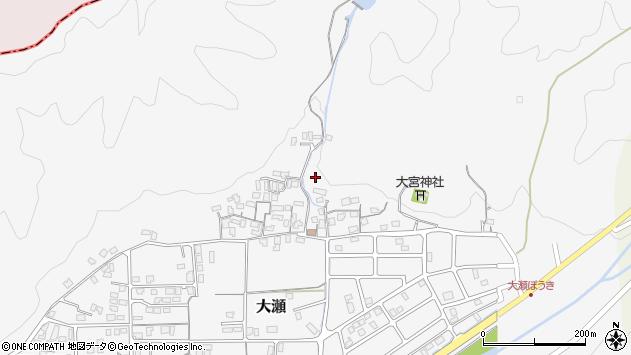 〒682-0121 鳥取県東伯郡三朝町大瀬の地図