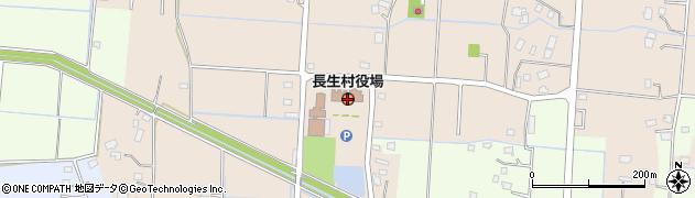 千葉県長生郡長生村周辺の地図