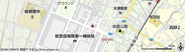 千葉県木更津市岩根周辺の地図