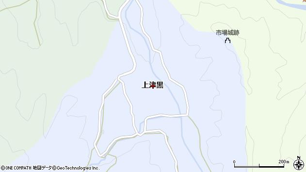 〒680-0313 鳥取県八頭郡八頭町上津黒の地図