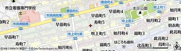 岐阜県岐阜市寿町周辺の地図