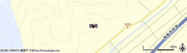京都府舞鶴市別所周辺の地図