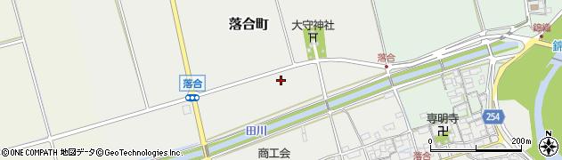 滋賀県長浜市落合町周辺の地図