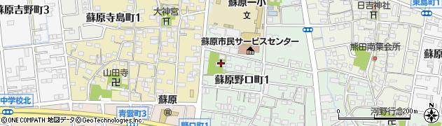 大樹寺周辺の地図