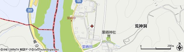 愛知県犬山市栗栖周辺の地図