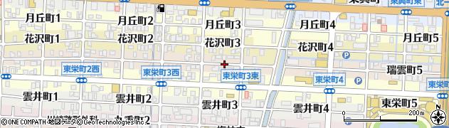 岐阜県岐阜市瑞雲町周辺の地図