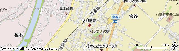 大谷医院周辺の地図