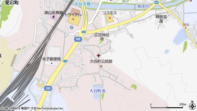 〒683-0045 鳥取県米子市大谷町の地図