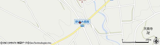 野井大橋西周辺の地図