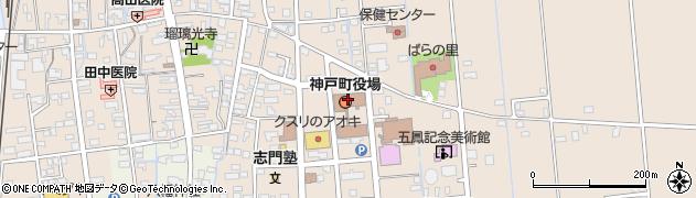 岐阜県安八郡神戸町周辺の地図