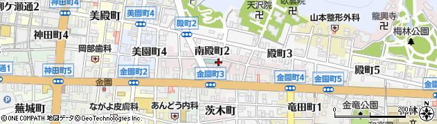 岐阜県岐阜市南殿町周辺の地図