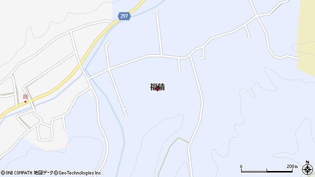 〒682-0644 鳥取県倉吉市福積の地図