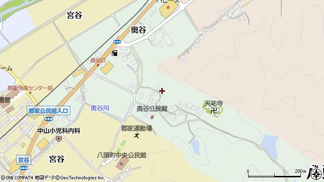 〒680-0427 鳥取県八頭郡八頭町奥谷の地図