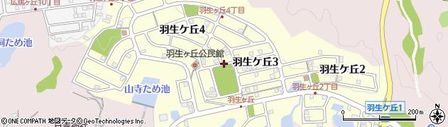 岐阜県可児市羽生ケ丘周辺の地図