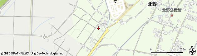 北野団地周辺の地図