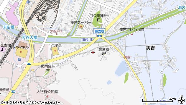 〒683-0035 鳥取県米子市目久美町の地図