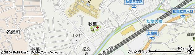 長蔵寺周辺の地図