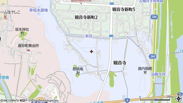 〒683-0007 鳥取県米子市観音寺の地図