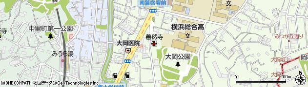 善然寺周辺の地図