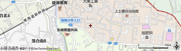 神奈川県綾瀬市上土棚北3丁目26周辺の地図