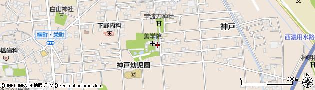 善学院周辺の地図
