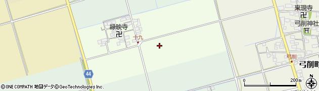 滋賀県長浜市十九町周辺の地図